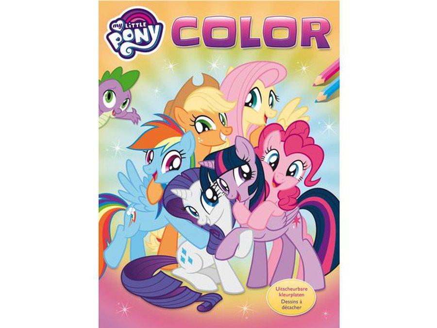 Koop Uw Kleurplaat My Little Pony Color Bij Sko Bv 062769